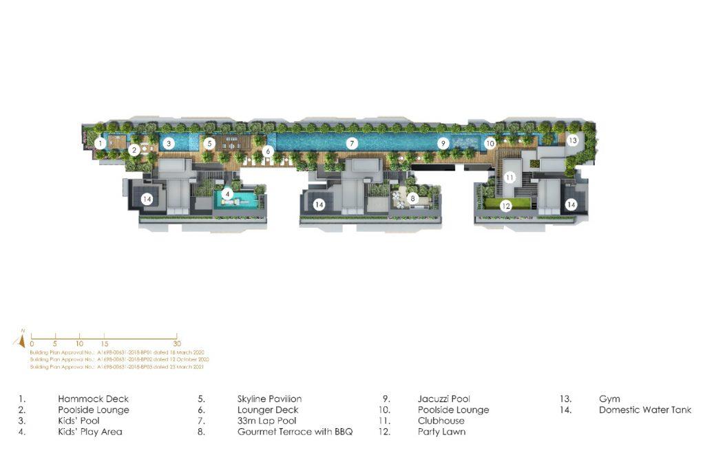 peak-residence-roof-terrace-site-plan-singapore