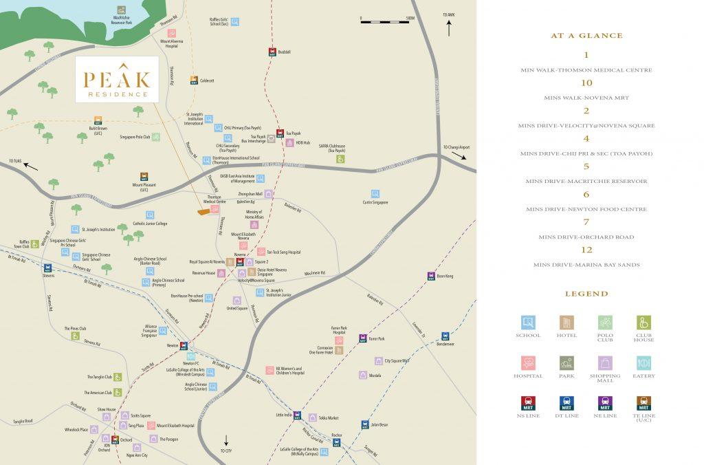peak-residence-condo-location-map-singapore